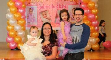 Gabriella Cuartel Salt's 1st Birthday