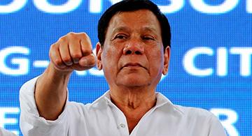 Dancing cha-cha to Duterte's tune