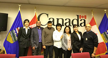 active permanent residence during canada citizenship application