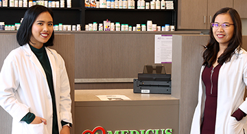 Two Tagalog-speaking pharmacists join Medicus Clinic