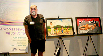 A Promising Filipino Artist Featured at The Works Art & Design Festival