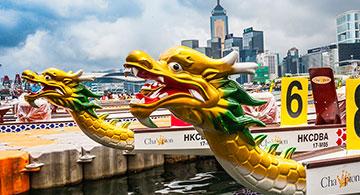 Hong Kong Airlines to sponsor Hong Kong Race at 2018 Hong Kong Dragon Boat Carnival