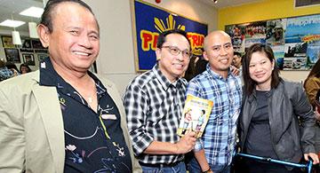 Book launching of Alberta Filipino Journal columnist Marco Luciano on May 31 at Panciteria de Manila