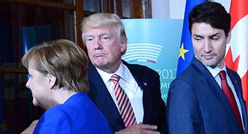 Double whammy hits Trump