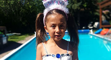 Aaliyah Zion Angeles 7th Lucky Birthday