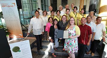 NDP Caucus hosts historic Philippine Heritage Month celebration