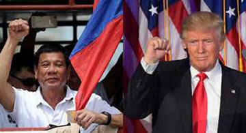 Is Duterte reaching out to Uncle Sam?