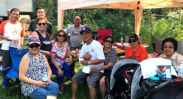 Filipino Radio Enthusiasts of Edmonton (FreeDX) Hosts Picnic at Miquelon Lake Park