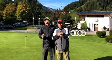 Calgary Amateur Golfers Representing Canada in the Audi Quattro Cup World Finals in Kitzbuhel, Austria.