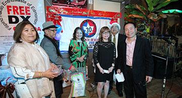 FreeDX, Radyo Trenta celebrate Christmas party at Palabok House
