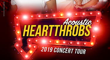 Acoustic Heartthrobs 2019 Concert Tour