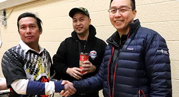 Diesmos wins 3rd, Crosstown Auto at Edson volleyball, Red Deer Ballers, Filipino Bobsleigh, Leduc Pilipino Ballers Ass'n