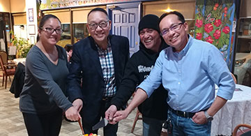 The leadership of Alberta Filipino Journal's publisher Jun Angeles is beyond compare