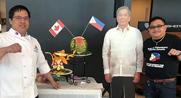 Duterte volunteers celebrate PRRD's 74th in Edmonton