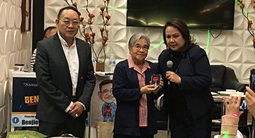 Two Edmontonian Pioneers Receive Senator C. Enverga Medal of Excellence 2019