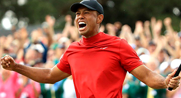 A Roar Like No Other – Tiger Woods the 2019 Masters Champion