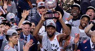 Congratulations Toronto Raptors