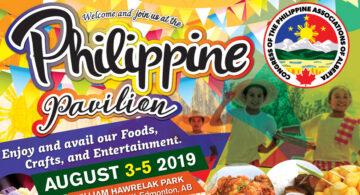 COPAA Hosting the Philippine Pavilion