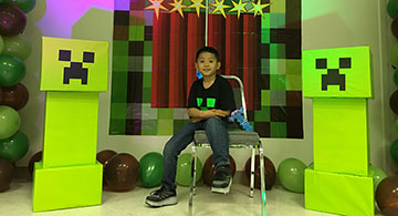 Nash Araullo Turns 7
