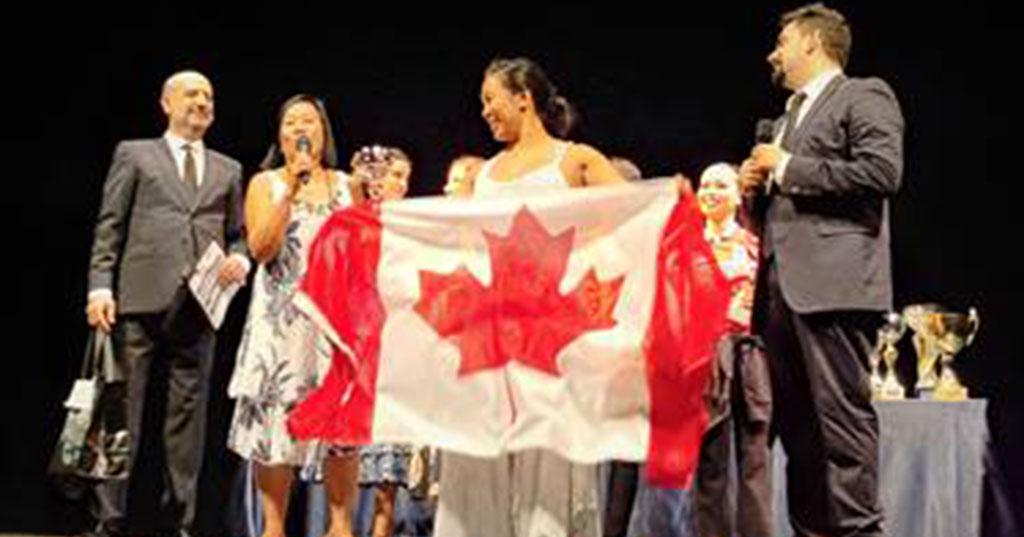 Karilagan Dance Society represents Canada at Dance Grand Prix Italia 2019