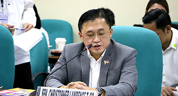 Sen. Bong Go checks on SEAG hosting preps