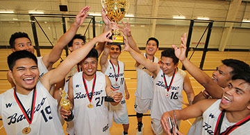 Crosstown Auto-Quickly Bubble Tea top INC league, Liga Maharlika basketball and co-ed volleyball, Marsha and VEA
