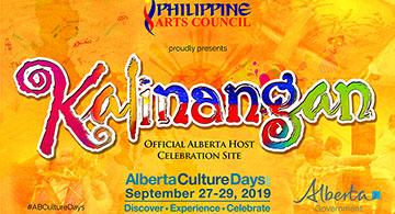 Kalinangan - September 27 & 28, 2019
