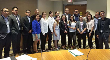 Filipino Community Gathers for the Roundtable Discussion on Bill 11 – The Fair Registration Practices Act