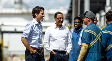 Amarjeet Sohi: Because I am one of you