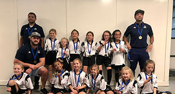 U-9 Warriors Clinch Gold