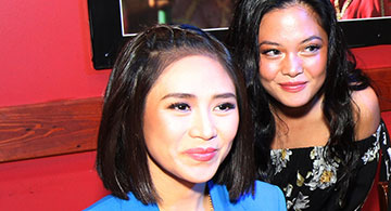 Fans troop to Pacific Hut Restaurant to meet Sarah Geronimo; Annie Lux, Overdrive Band perform to brighten up the night