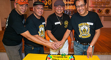 Active Members of TAU GAMMA PHI in Canada Celebrate its 51st Founding Anniversary!