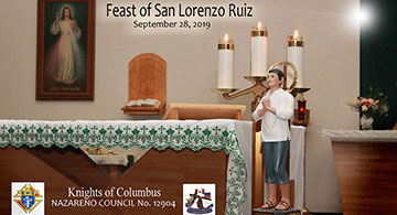 San Lorenzo Ruiz, The First Filipino Saint