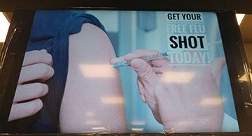 Free flu shot at Medicus Family Clinic & Pharmacy