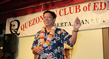 Quezonian Club Hawaiian Party Anniversary