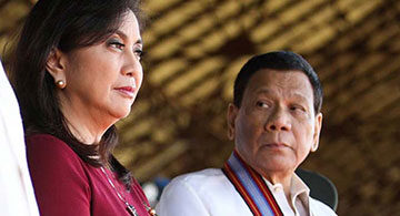 Duterte appoints Leni anti-drug czarina