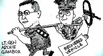 78% of Filipinos believe there are ninja cops in police force