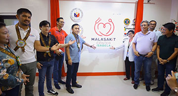 Bong Go leads opening of 62nd Malasakit Center in Isabela