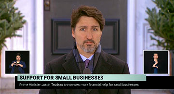 Prime Minister announces additional support for small businesses
