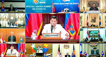 Asean collaboration necessary to defeat Covid-19: Duterte