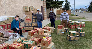 Pinoy organizations extend assistance to 'Kababayans' in High River, Okotoks