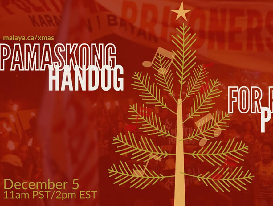 Pamaskong Handog: Christmas Benefit Concert for Political Prisoners by Malaya Canada