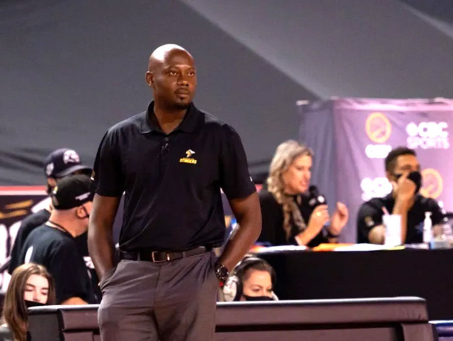 Edmonton Stingers Re-Sign Jermaine Small as Head Coach and General Manager
