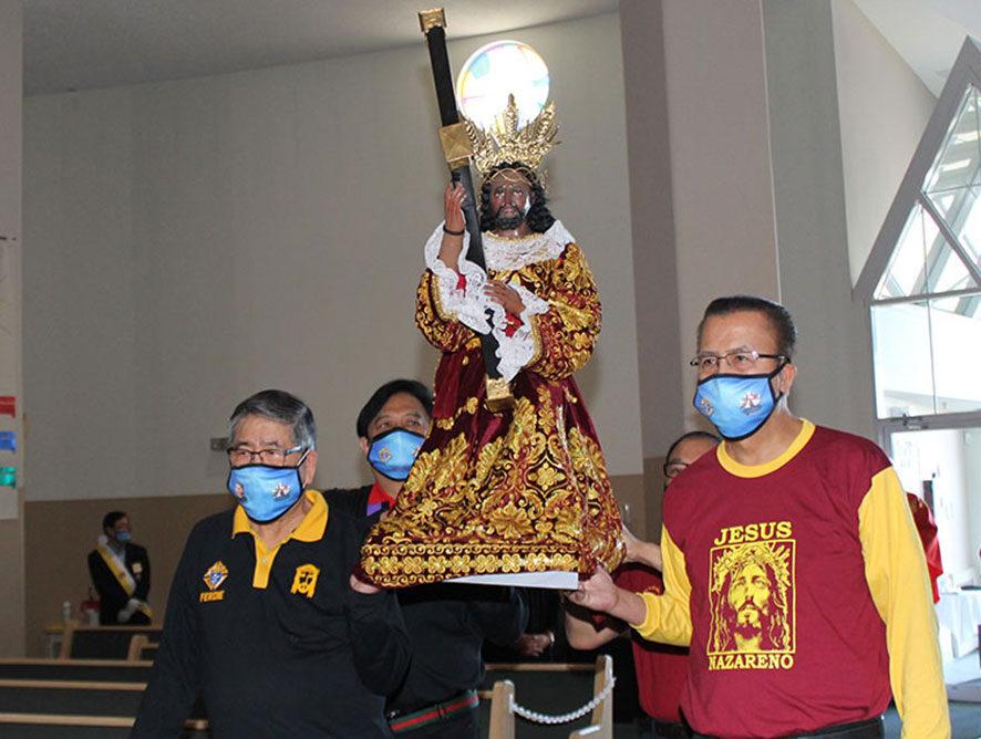K of C Nazareno Council Celebrates Feast of the Black Nazarene