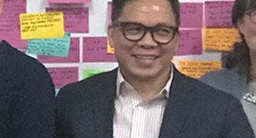 EBOA referee Rolan, three-time national athlete Tony Flores