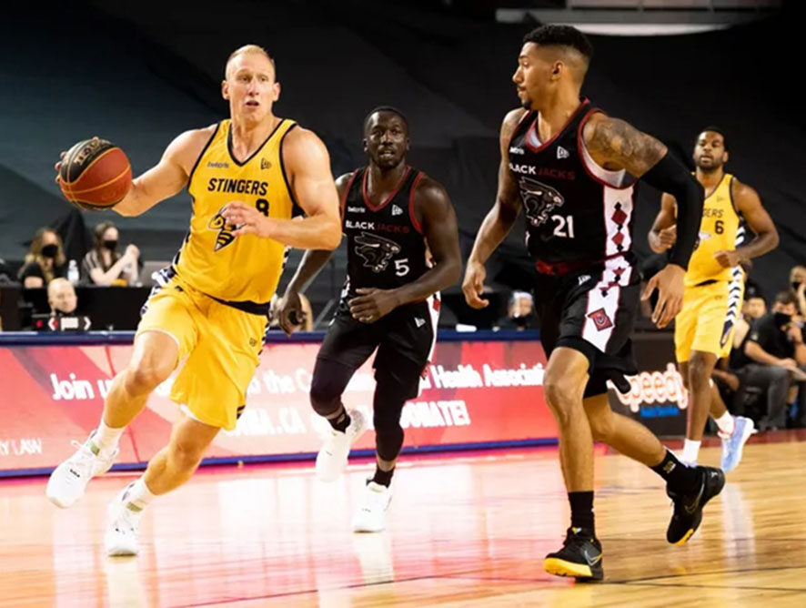 Edmonton Stingers Re-Sign Baker: CEBL Canadian Of The Year