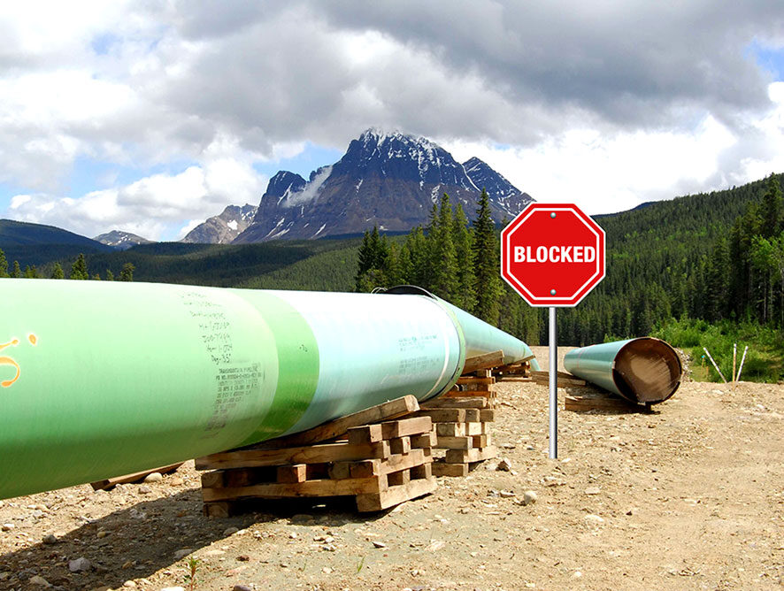 No Entry! Provincial Borders and Keystone Pipeline